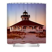 Boca Grande Lighthouse - Florida Shower Curtain