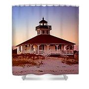 Boca Grande Lighthouse - Florida Shower Curtain