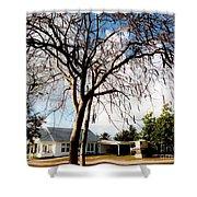 Bodden House 2 Shower Curtain