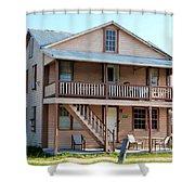 Bodden House Shower Curtain