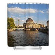 Bode Museum In Berlin Germany Shower Curtain