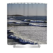 Bodega Bay Beach Shower Curtain