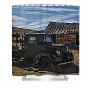 Bodie Abandoned Truck Shower Curtain