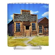 Bodie Barbershop And Store Shower Curtain