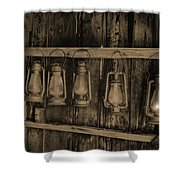 Bodie California Lamp Light  Shower Curtain