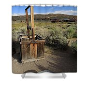 Bodie Ghost Town At The Well Shower Curtain