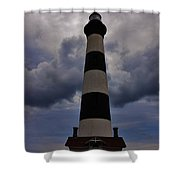 Bodie Island Lighthouse 4 5/14 Shower Curtain