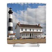 Bodie Island Light Shower Curtain