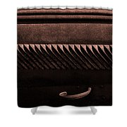 Bodie Louvers Shower Curtain