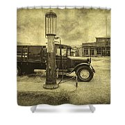Bodie Memories Shower Curtain