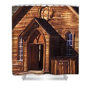 Bodie Methodist Church Shower Curtain