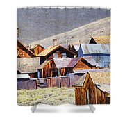 Bodie Rooftops Shower Curtain