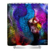Bodies Colorful Shower Curtain