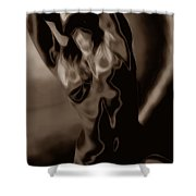 Body Expression Shower Curtain