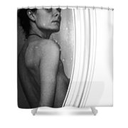 Body Image 5 Shower Curtain