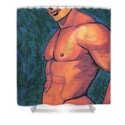 Body Of Work Shower Curtain