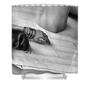 Body Parts Shower Curtain
