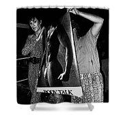 Body Talk Poster Prize Jello Wrestling Contest Gay Bar Tucson Arizona July 4th 1992 Shower Curtain
