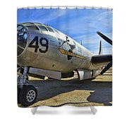 Boeing B-29a Superfortress Shower Curtain