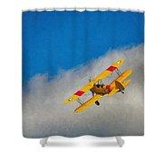 Boeing N2s Shower Curtain