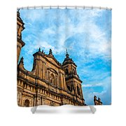 Bogota Cathedral Front Shower Curtain