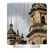 Bogota Cathedral Towers Shower Curtain