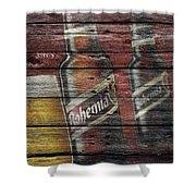 Bohemia Beer Shower Curtain