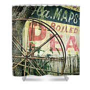 Boiled Peanuts Shower Curtain by Joan Carroll