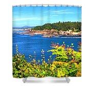 Boiler Bay 17133 Shower Curtain