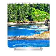 Boiler Bay 17160 Shower Curtain