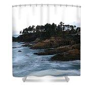 Boiler Bay Shower Curtain