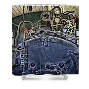 Boiler  Shower Curtain