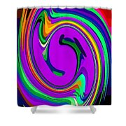 Bold And Colorful Phone Case Artwork Designs By Carole Spandau Cbs Art Exclusives 105 Shower Curtain