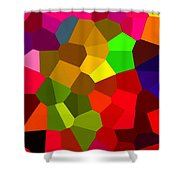 Bold And Colorful Phone Case Artwork Designs By Carole Spandau Cbs Art Exclusives 107  Shower Curtain