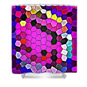 Bold And Colorful Phone Case Artwork Designs By Carole Spandau Cbs Art Exclusives 113 Shower Curtain
