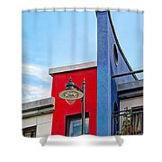 Bold Living Shower Curtain