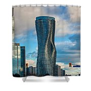 Bold Towers Shower Curtain