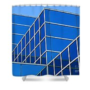 Boldly Blue Shower Curtain