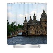 Boldt Castle Powerhouse Shower Curtain
