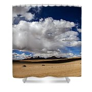 Bolivia Cloud Valley Shower Curtain