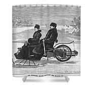 Bollee Carriage, 1898 Shower Curtain