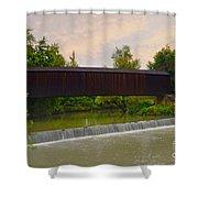 Bollinger Cover Bridge Shower Curtain
