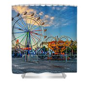 Bolton Fall Fair 4 Shower Curtain