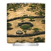 Boma On The Range Shower Curtain