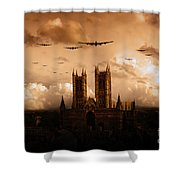 Bomber Country  Shower Curtain