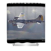 Bomber Shower Curtain