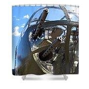 Bomber's Cockpit Shower Curtain
