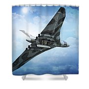 Bombs Gone Shower Curtain