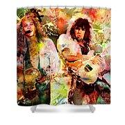 Bon Jovi Original  Shower Curtain