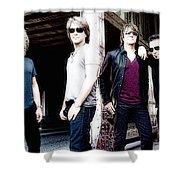 Bon Jovi Shower Curtain